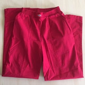Red Dickies Pants Scrub Small